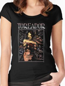 Masquerade Clan: Toreador Revised Women's Fitted Scoop T-Shirt