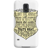 Blunt the Knives Samsung Galaxy Case/Skin