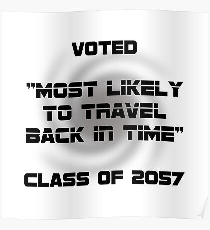 Voted Time Travel Poster