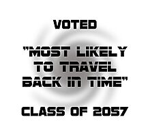 Voted Time Travel Photographic Print