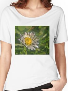 Macro Daisy B Women's Relaxed Fit T-Shirt