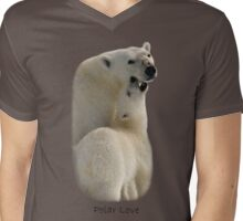 Polar Love - T-Shirt Mens V-Neck T-Shirt