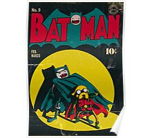 Batman and Robin/Adventure time Mashup Poster