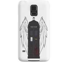 SuperWhoLock Tardis Samsung Galaxy Case/Skin