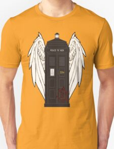 SuperWhoLock Tardis Unisex T-Shirt