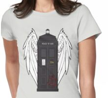 SuperWhoLock Tardis Womens Fitted T-Shirt