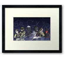 The Global Offensive-ers Framed Print