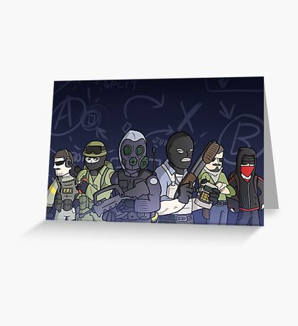 The Global Offensive-ers Greeting Card