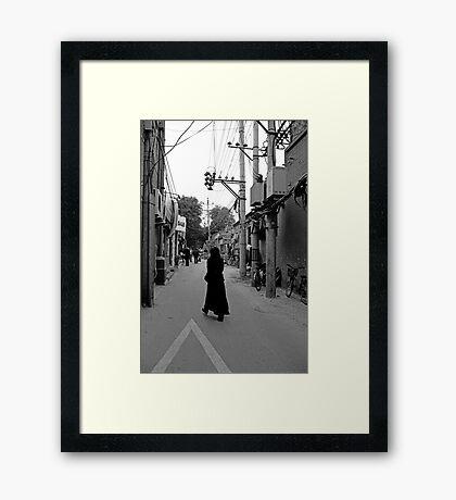 street scene 4 Framed Print