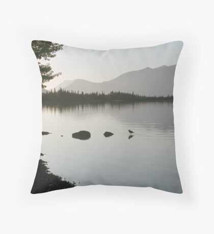 After the Winter Throw Pillow