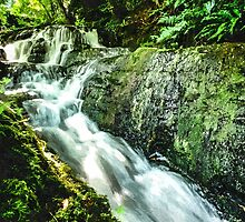 Artwork - Waterfall by ncp-photography