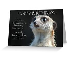 OH  My Greeting Card