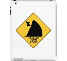 Falling Cow Zone iPad Case/Skin