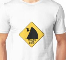Falling Cow Zone Unisex T-Shirt