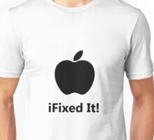 iFixed It Apple Unisex T-Shirt
