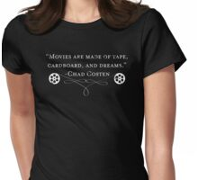The Makings of Movies Womens Fitted T-Shirt