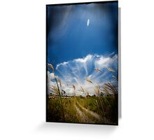 field of Vision Greeting Card