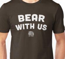 Bear With Us (White) Unisex T-Shirt