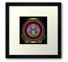 Chakra: 4 Heart Chakra Framed Print