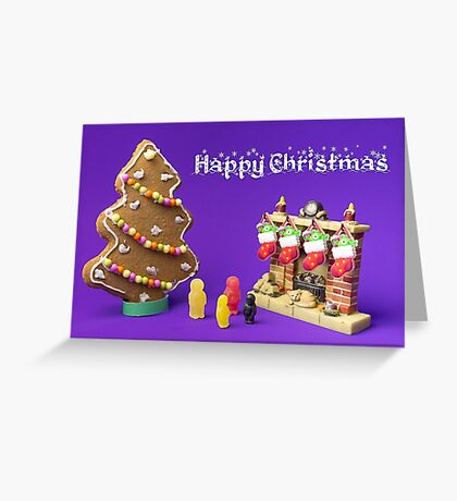 Happy Christmas - Christmas Morning Greeting Card
