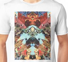Faces In Abstract Shapes 2 Unisex T-Shirt