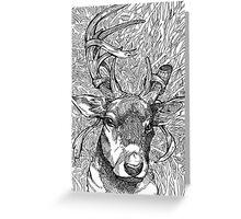 The Deer Prince Greeting Card