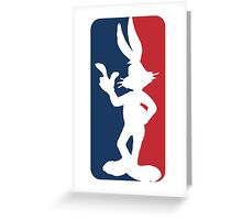 Bugs Bunny Greeting Card