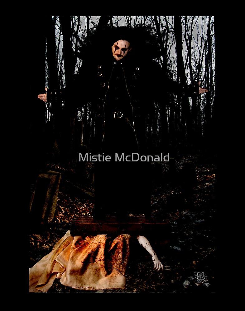 Death Awaits His Reward by Mistie McDonald