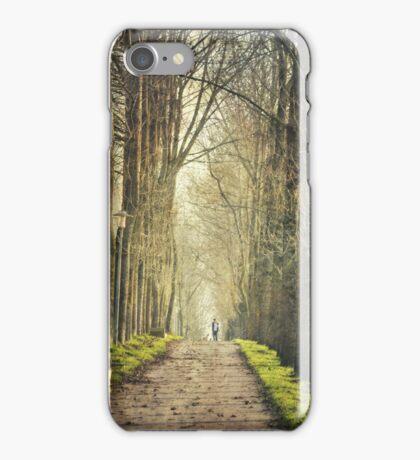 Winter walks iPhone Case/Skin
