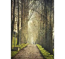 Winter walks Photographic Print