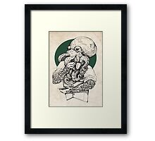Mr Octopus Print/case Framed Print