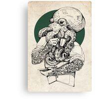 Mr Octopus Print/case Canvas Print