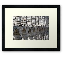 Aquaduct Framed Print
