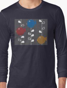 Birds of a Leaf Long Sleeve T-Shirt