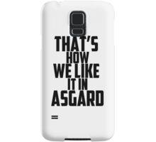 In Asgard Samsung Galaxy Case/Skin