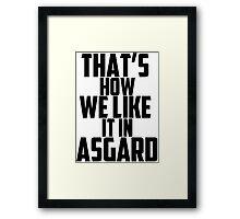 In Asgard Framed Print