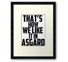 In Asgard Framed Print