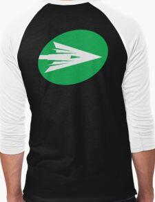 Verdant Dart Men's Baseball ¾ T-Shirt