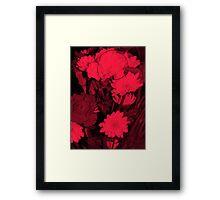 Very Red Framed Print