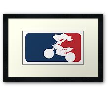 Freestyle Motocross Framed Print