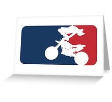 Freestyle Motocross Greeting Card