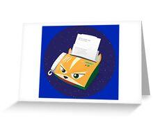 Starfax Greeting Card