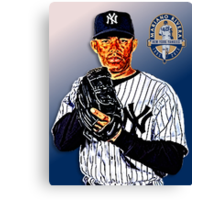 New York Yankees - Mariano Rivera Canvas Print