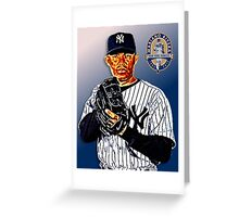 New York Yankees - Mariano Rivera Greeting Card