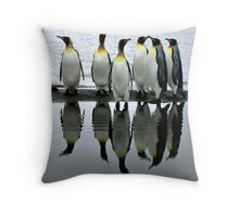 Reflecting Kings Throw Pillow