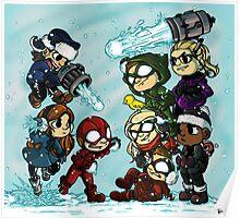 Flarrow Snowball Fight! Poster