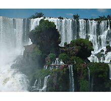 Iguazu Falls Argentina Photographic Print