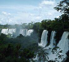 Iguazu Falls 2 by Luke Meers