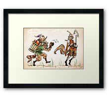 Monty Cooper Framed Print