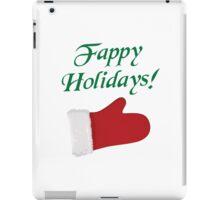 Fappy Holidays Christmas Glove iPad Case/Skin